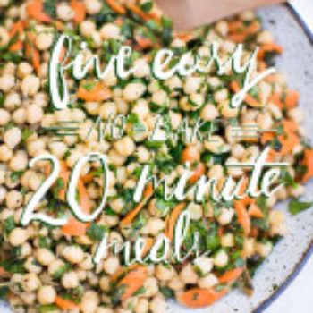 5 Easy No-Bake Meals in Under 20 Minutes