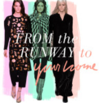 From the Runway to the Home: 2014 Fall Trends