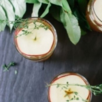 Project Sip: Stop! Apple Thyme