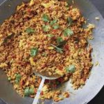 In the Kitchen With: Aarti Sequeira's Lucia-Lucica Fried Rice