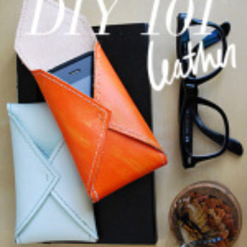 DIY 101: Leather Projects