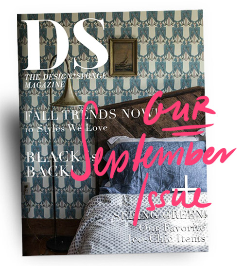 Design*Sponge September Issue