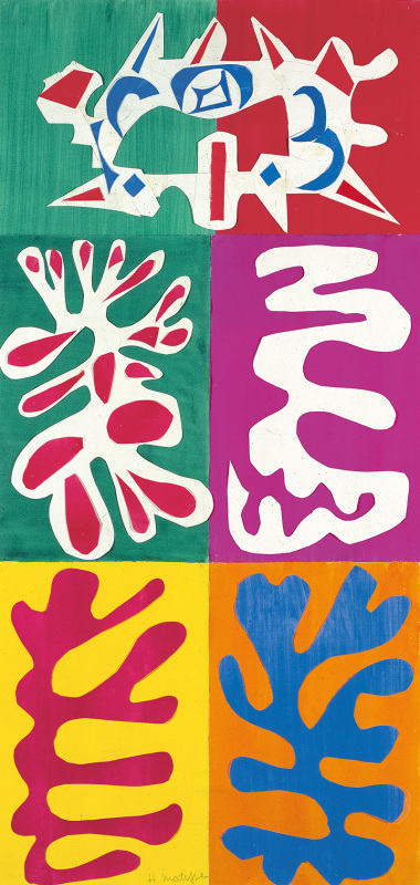 Panel with Mask, 1947. Designmuseum Danmark. Photograph: Succession H. Matisse / Artists Rights Society (ARS), New York