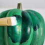 DIY Malachite Pumpkin by Jenny Batt of Hank & Hunt for Design*Sponge