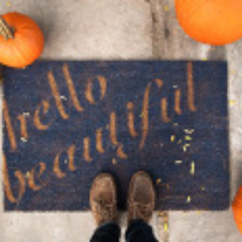 DIY Project: Hello Beautiful Doormat