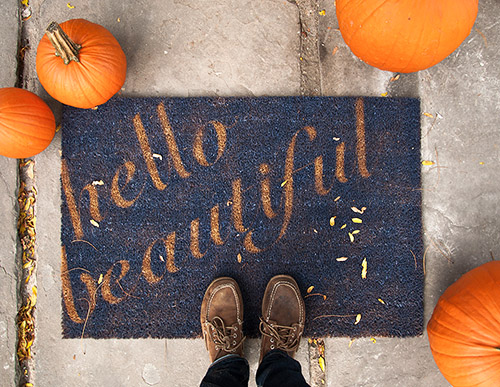 DIY Doormat by Lidy for Design*Sponge