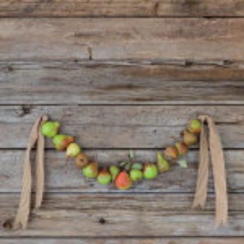 The Wreath Recipe Book + Pear Garland How-To