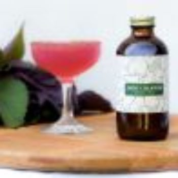 Shiso Jalapeno Cocktail with Concord Grape and Sumac