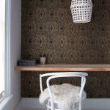 DIY Project: Woven Ceiling Light