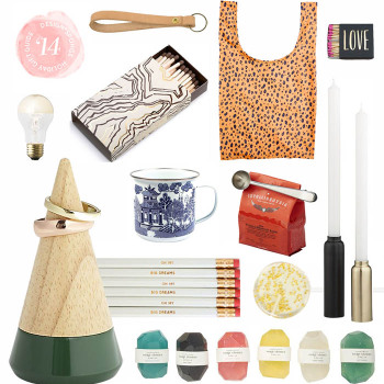 Design*Sponge Gift Guide: 12 Gifts $10 and Under