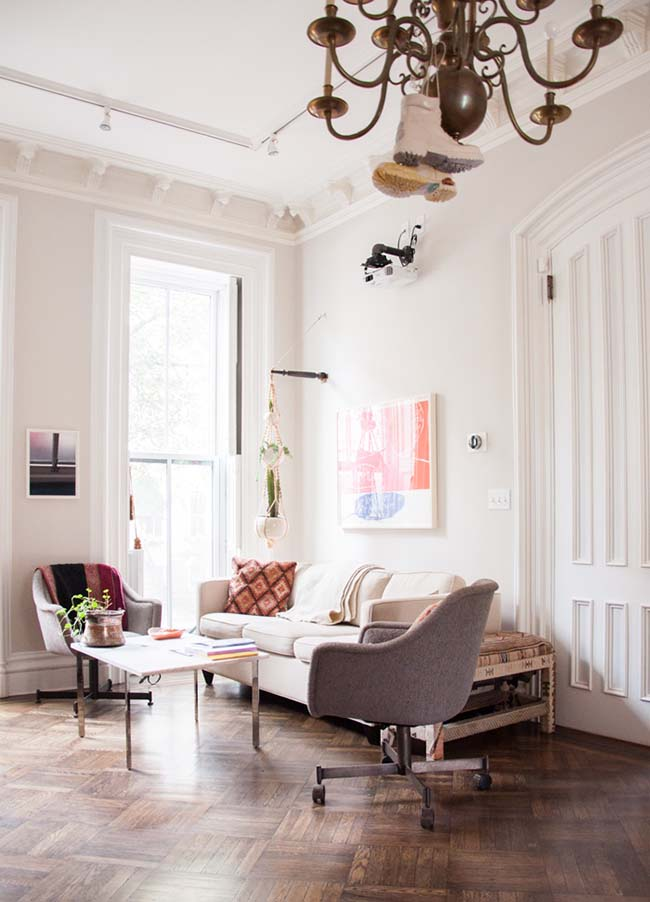 Julia Sherman's home on Design*Sponge