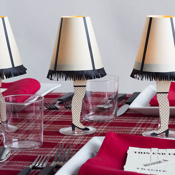 a christmas story inpired fete by david stark design at designsponge