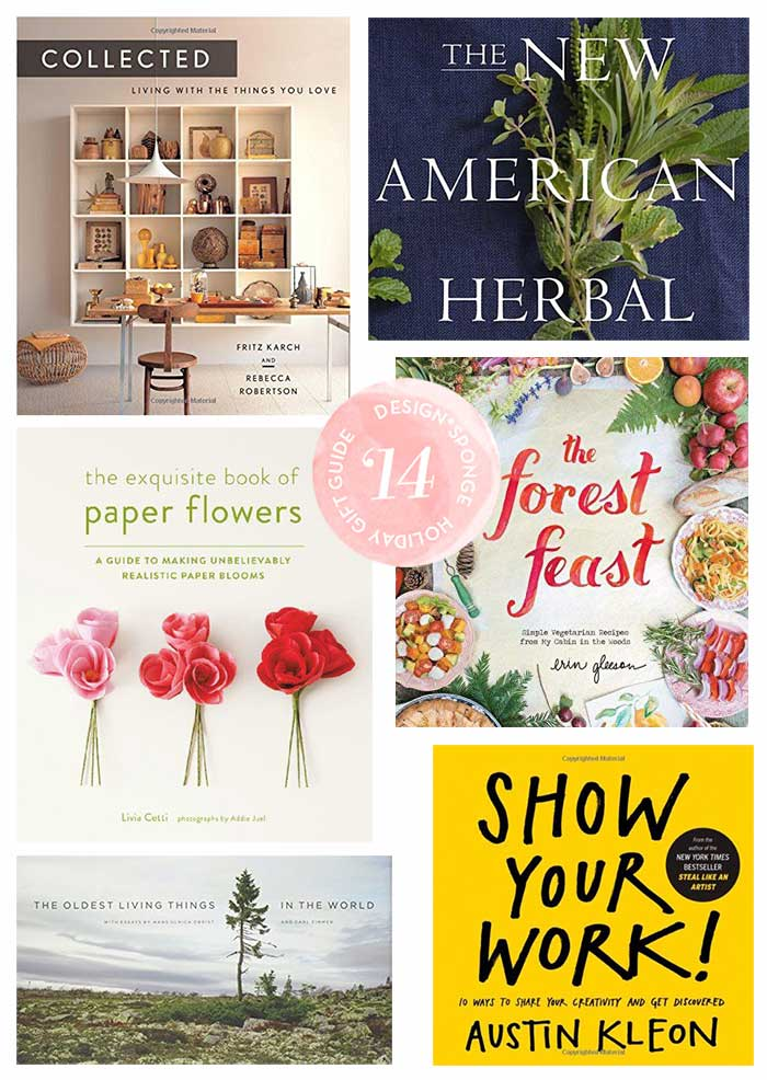 Design*Sponge 2014 Gift Guide: 25 Great Books to Give as Gifts
