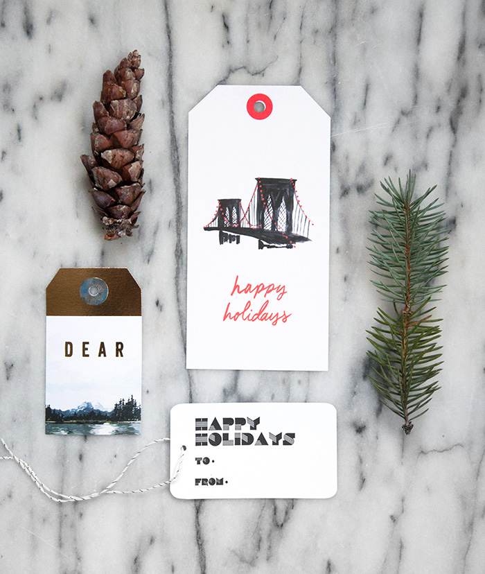 Design*Sponge Gift Guide 2014: Cards, Tags, and Gift Wrap
