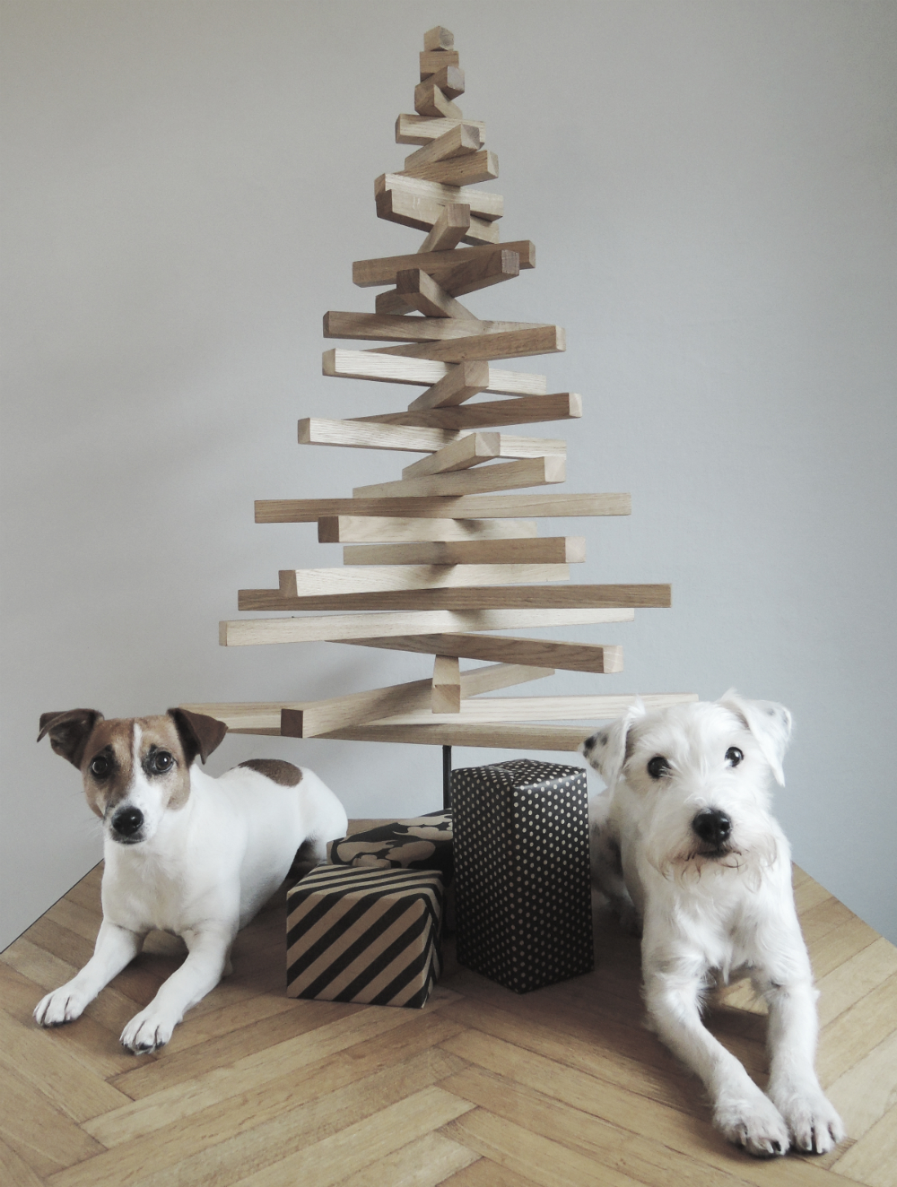 Diy Project Modern Wooden Christmas Tree Designsponge