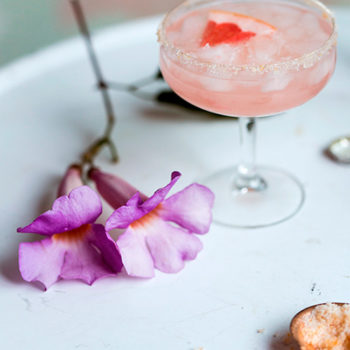 Behind the Bar:  Leela Cyd's Grapefruit Spritz
