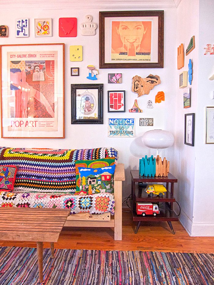 Two Artists Make a Gallery of Their New York Home – Design*Sponge