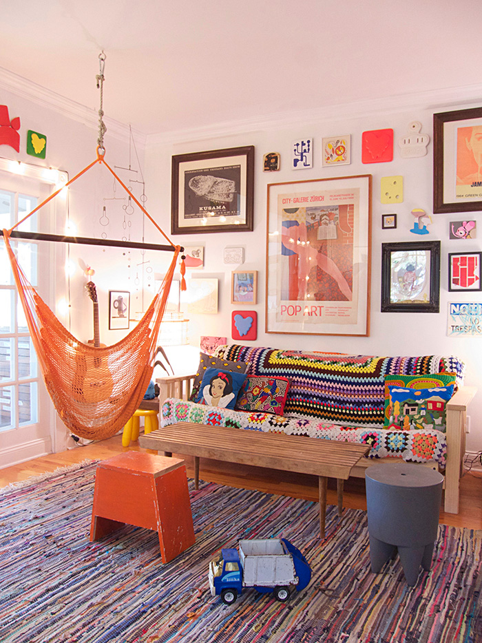 Two Artists Make A Gallery Of Their New York Home Design