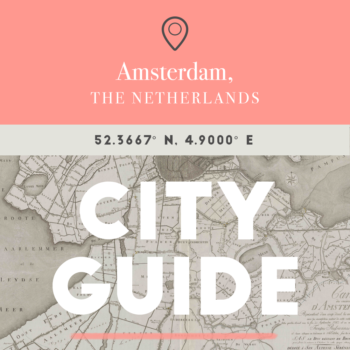 24 Hours in Amsterdam with Tim Boelaars