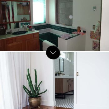 Before & After: A Master Bed + Bath Makeover