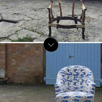 Before & After: A Textile Designer Learns to Upholster