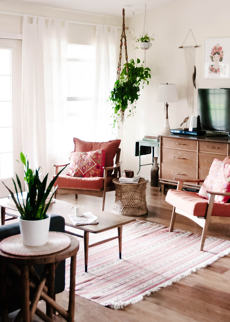 Bohemian Charm Meets Mid Century Modern In Sunny Florida Design Sponge