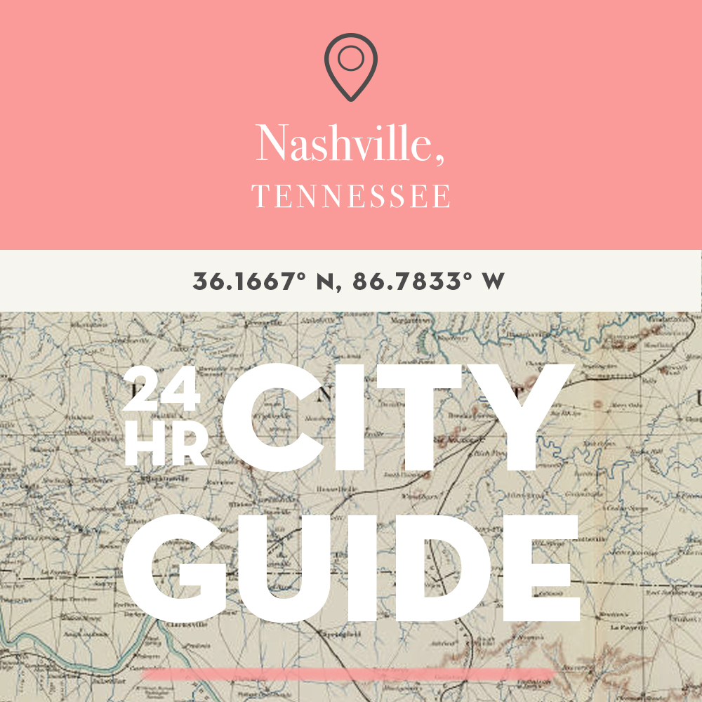 24 Hours in Nashville, Tennessee with A. Micah Smith