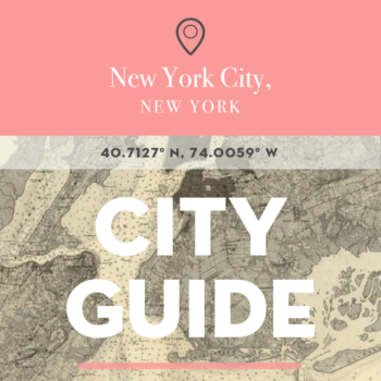 New York City, NY City Guide with Deana Sdao