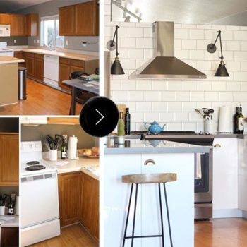 Before & After: Dala's Kitchen Makeover