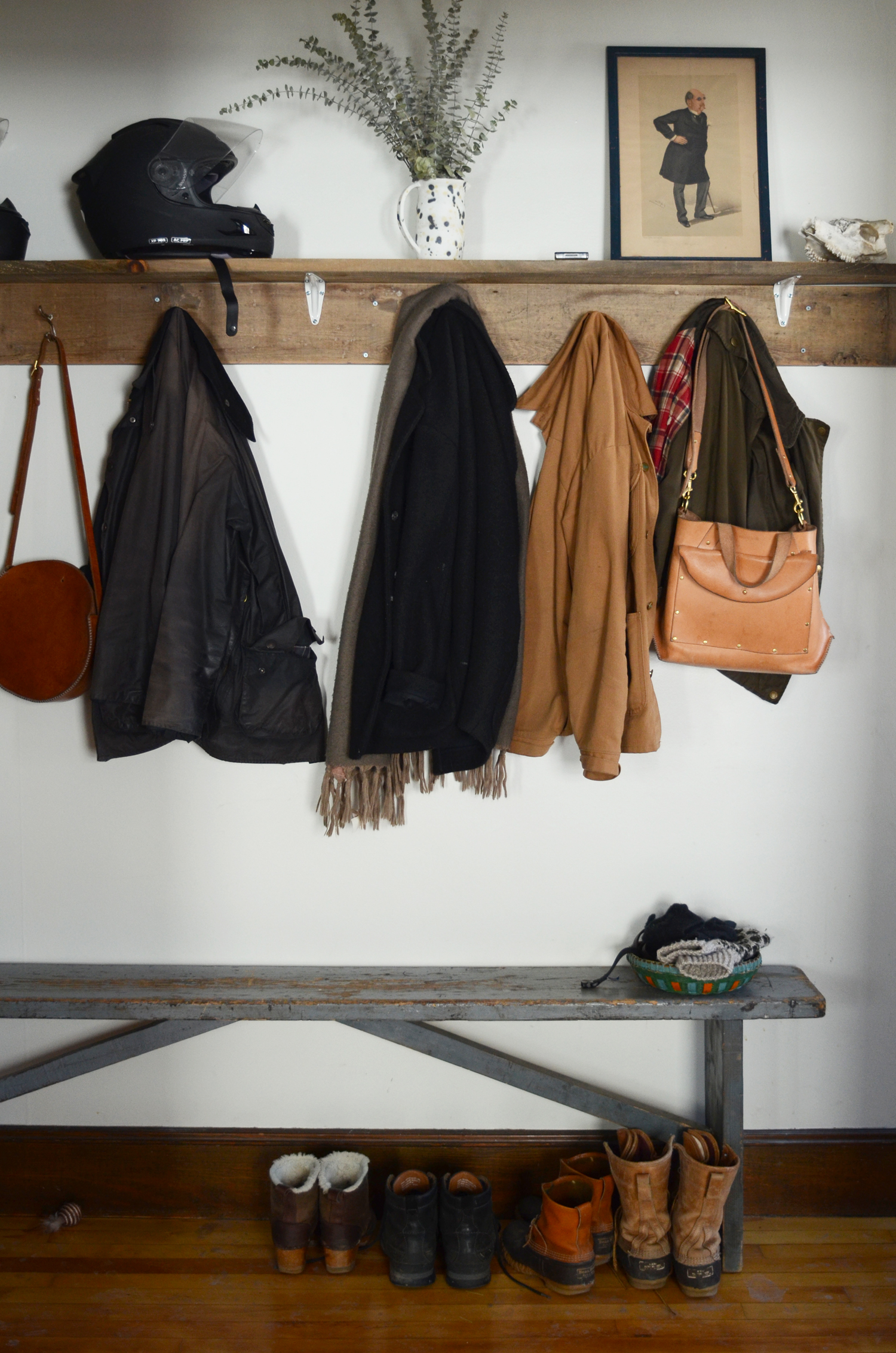 A Place To Call Home For a Chef and Leather Goods Maker in Portland, Maine