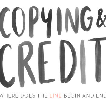 50 Shades of Grey: Copying & Credit in Design