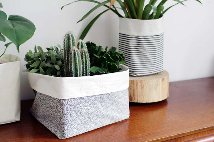 DIY Fabric Buckets