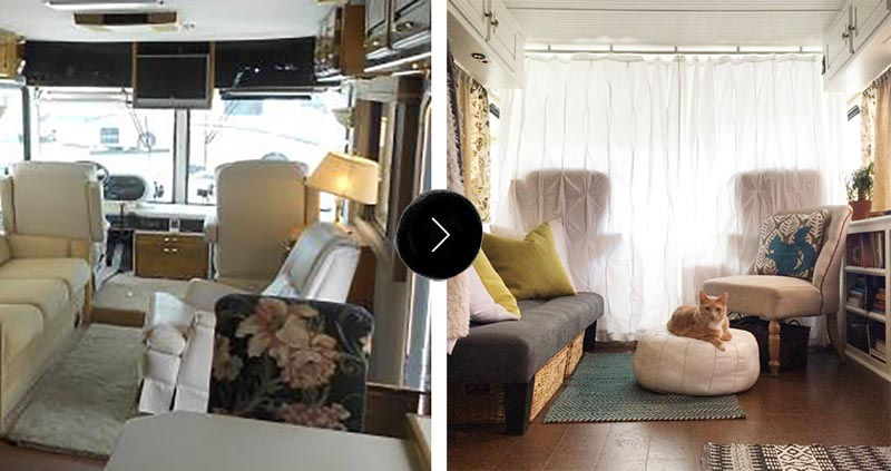 Before Amp After An Rv To Call Home Design Sponge