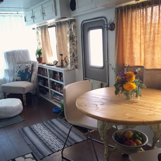 Before & After: An RV To Call Home
