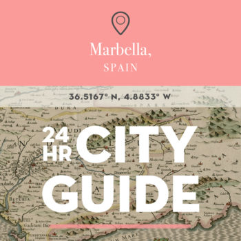 24 Hours in Marbella, Spain with Michelle Hastwell
