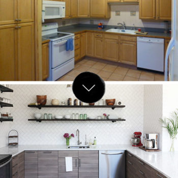 Before & After: Paige and Todd's Kitchen Renovation