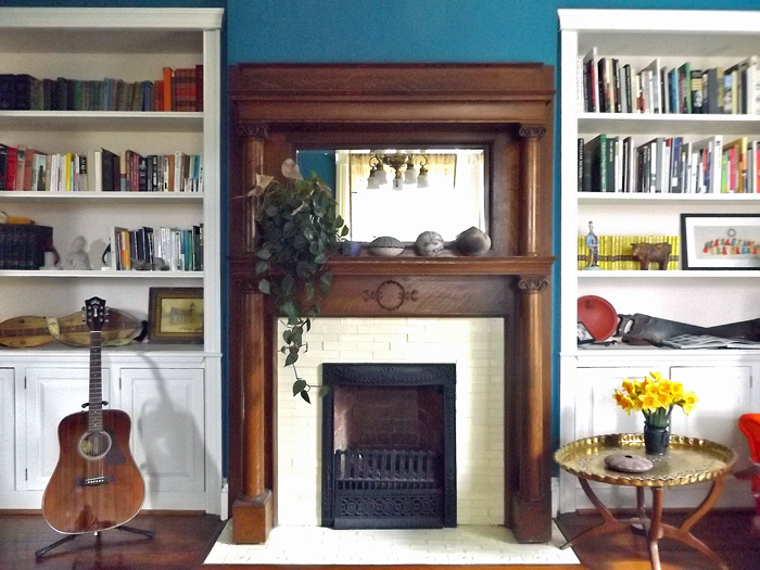 A 200-Year-Old Parlor Before & After, on Design*Sponge