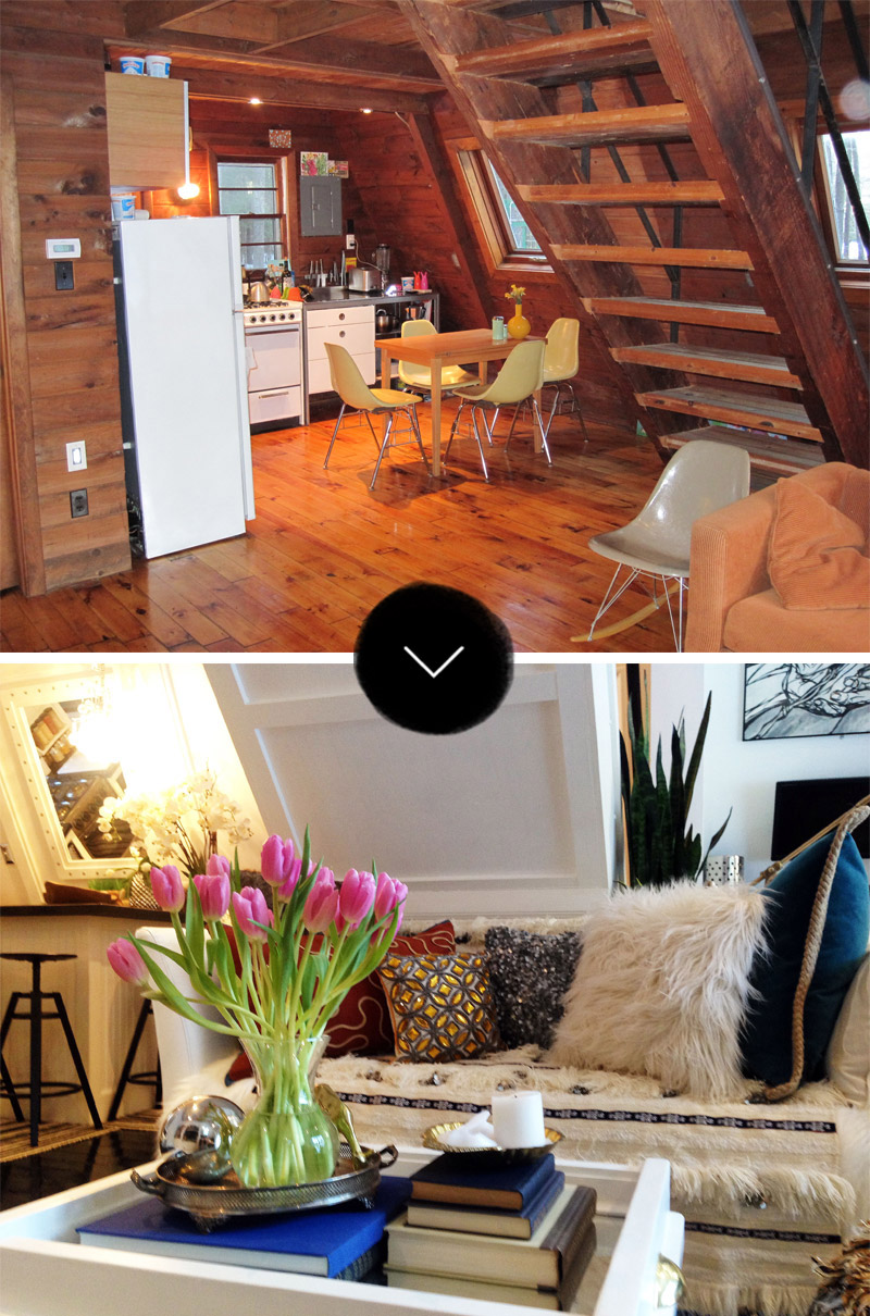 Before & After: An A-Frame Cottage Gets an A+ Renovation – Design*Sponge