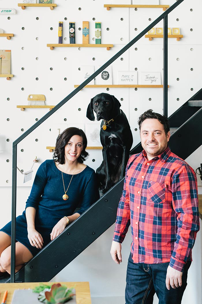Studio Tour: Loyal Supply Co. on Design*Sponge