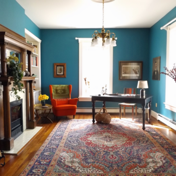Our First Before, Before & After: The Front Parlor at Fairview