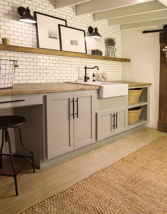 A Laundry Room Before & After, Design*Sponge