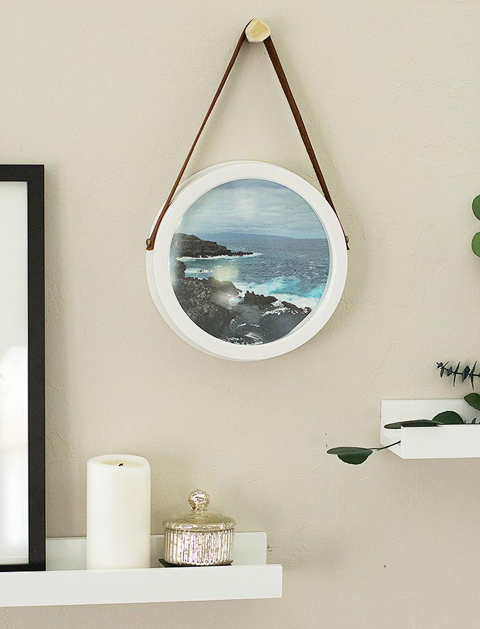 DIY Upcycled Clock Frame – Design*Sponge