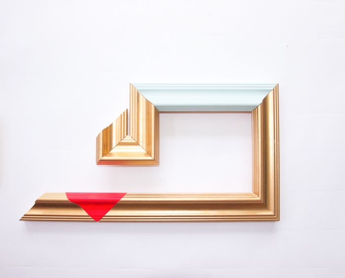 DIY Abstract Picture Frames – Design*Sponge