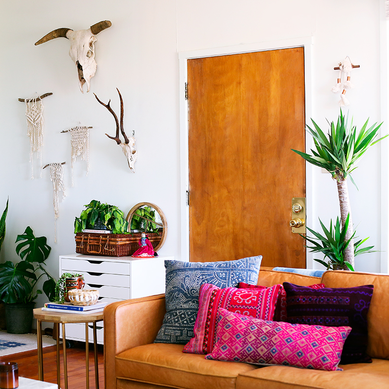 An Inspired Bohemian Home In The California Desert Design Sponge