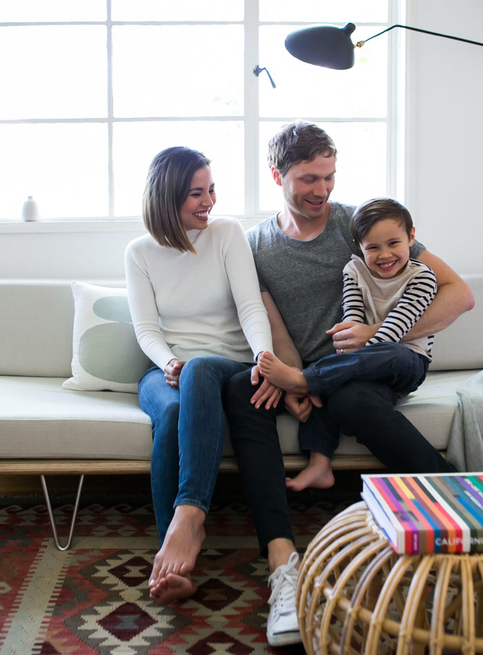 A Young Family's Merry, Golden-State Home, Design*Sponge