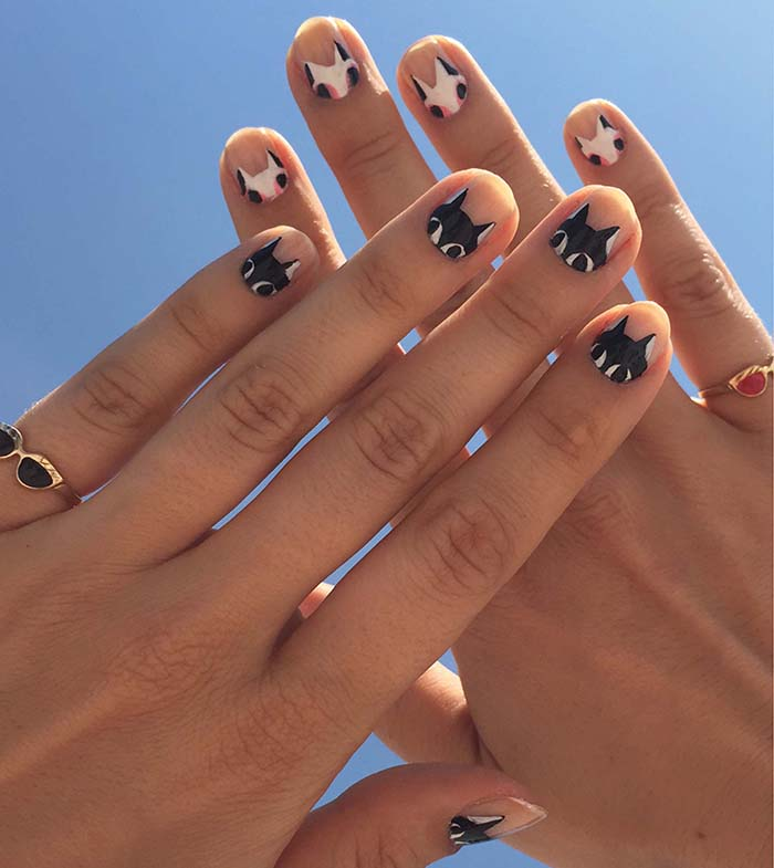 DIY Painted Cat Nails – Design*Sponge