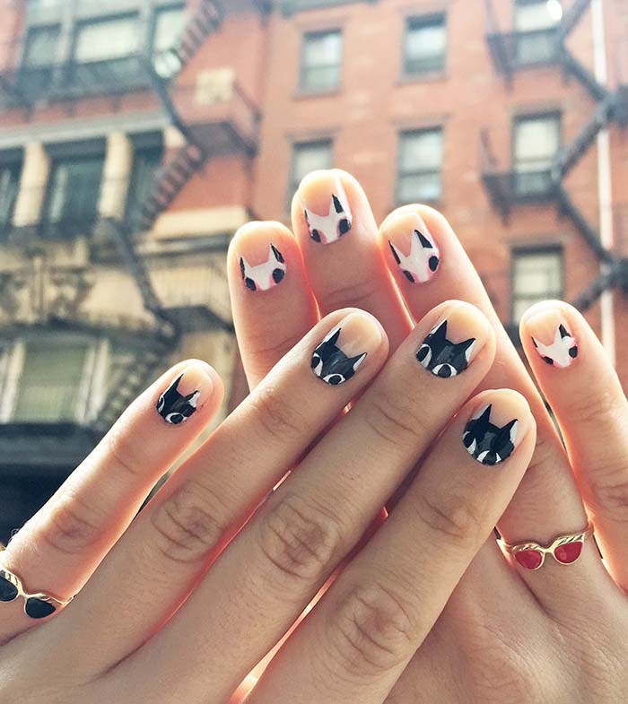 """I've always been someone who shied away from trends and """"must-haves"""" from  the fashion and beauty world. Mainly because they tend to be expensive or  designed ... - DIY Painted Cat Nails – Design*Sponge"""