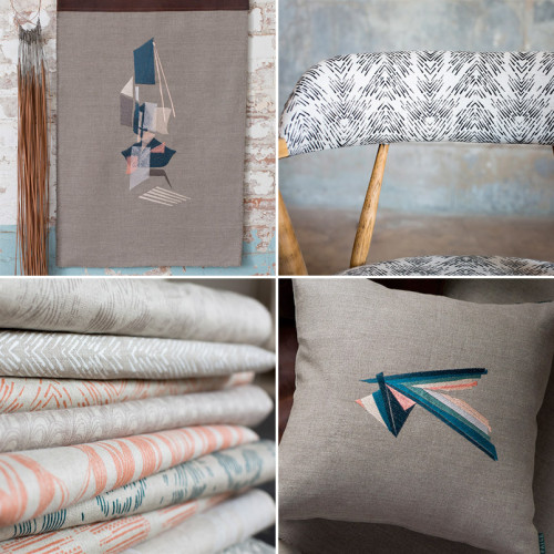 Fayce Textiles, on Design*Sponge