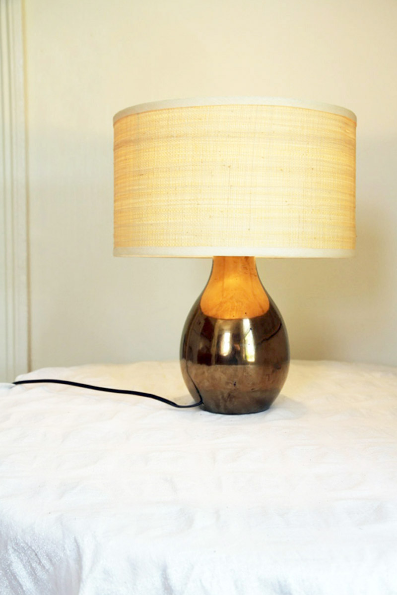 Home Ec: How to Rewire a Table Lamp, on Design*Sponge