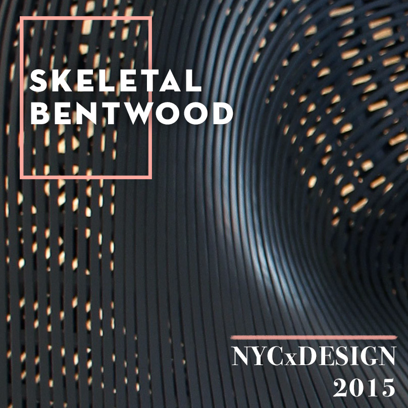 NYCxDESIGN 2015 Trends We Love: Skeletal Bentwood, on Design*Sponge